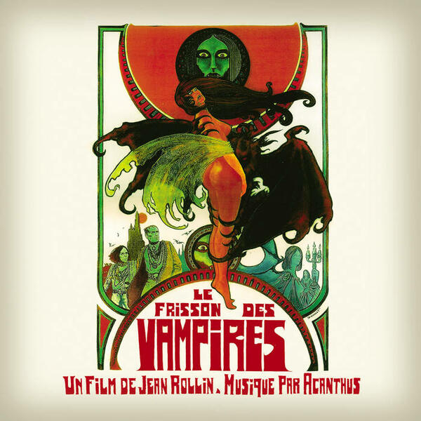 Cover of vinyl record LE FRISSON DES VAMPIRES by artist ACANTHUS