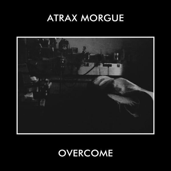 Cover of vinyl record OVERCOME by artist ATRAX MORGUE