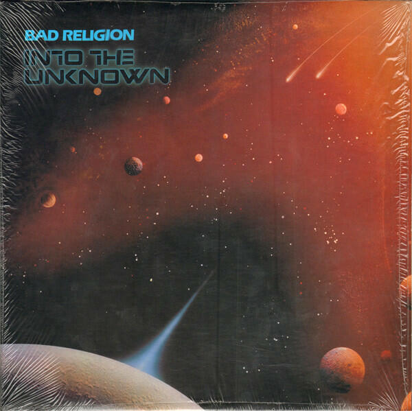 Cover of vinyl record INTO THE UNKNOWN by artist BAD RELIGION