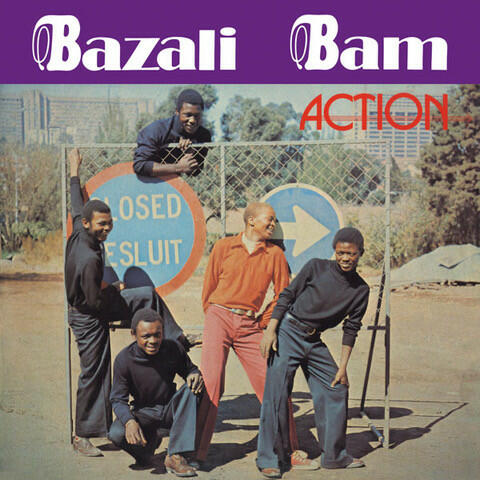 Cover of vinyl record ACTION by artist BAZALI BAM