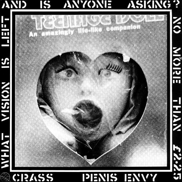 Cover of vinyl record PENIS ENVY by artist CRASS