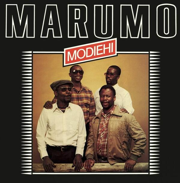 Cover of vinyl record MODIEHI by artist MARUMO