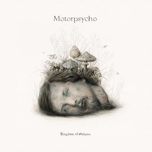 Cover of vinyl record KINGDOM OF OBLIVION by artist MOTORPSYCHO