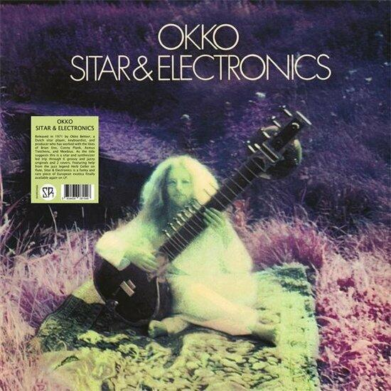 Cover of vinyl record SITAR & ELECTRONICS by artist OKKO