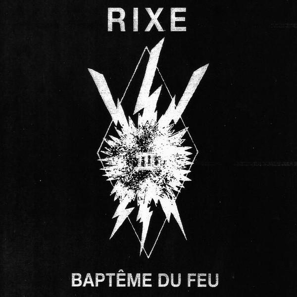 Cover of vinyl record BAPTEME DU FEU by artist RIXE