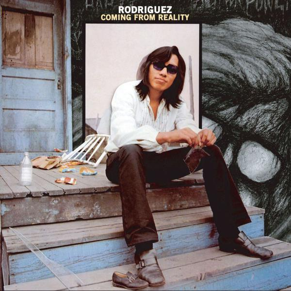 Cover of vinyl record COMING FROM reality by artist RODRIGUEZ