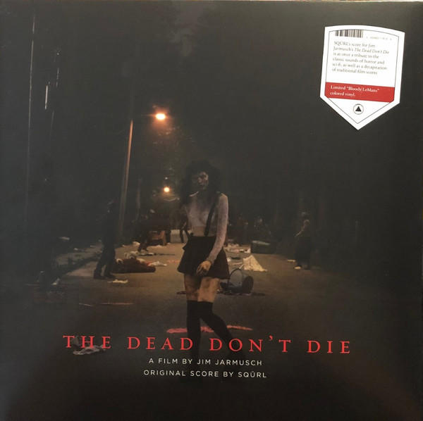 Cover of vinyl record the DEAD DON'T DIE by artist SQURL
