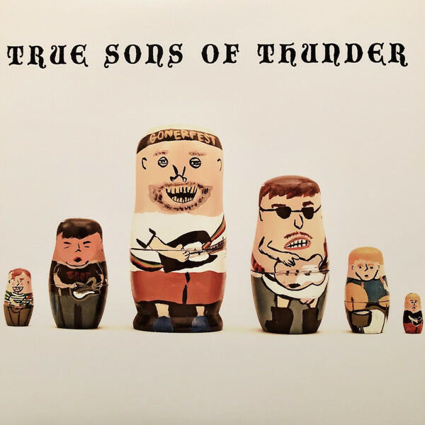 Cover of vinyl record IT WAS THEN THAT I WAS CARRYING YOU by artist TRUE SONS OF THUNDER