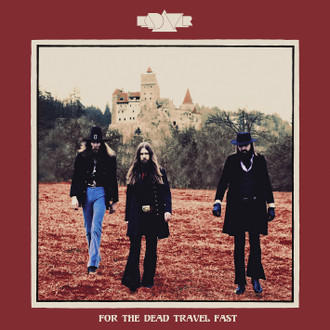 Cover of vinyl record FOR THE DEAD travel fast by artist KADAVAR
