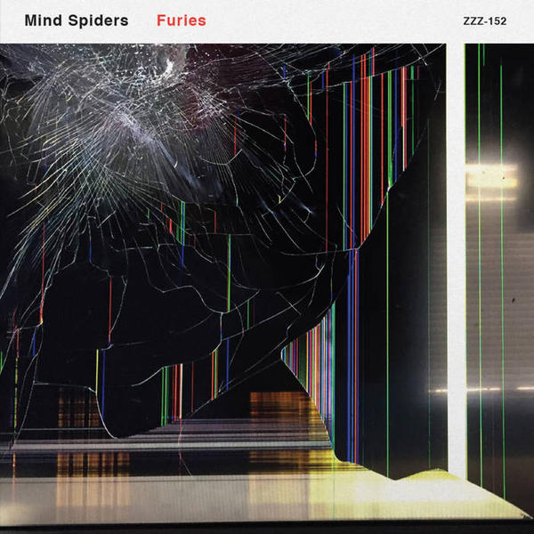 Cover of vinyl record FURIES by artist MIND SPIDERS
