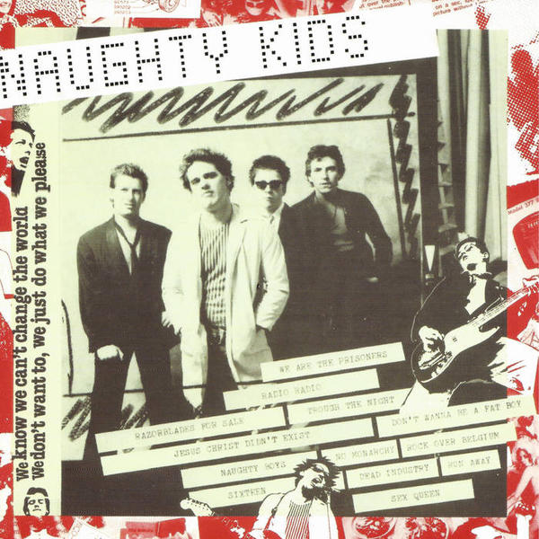 Cover of vinyl record NAUGHTY KIDS by artist KIDS