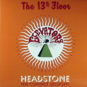 Cover of vinyl record HEADSTONE - THE CONTACT SESSIONS by artist