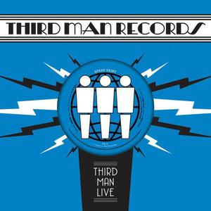 Cover of vinyl record LIVE AT THIRD MAN by artist