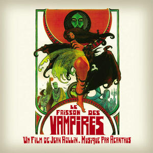 Cover of vinyl record LE FRISSON DES VAMPIRES by artist