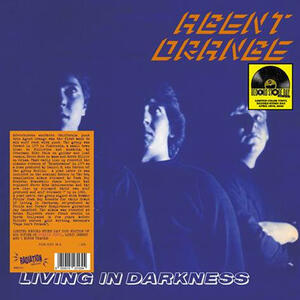 Cover of vinyl record LIVING IN DARKNESS  by artist