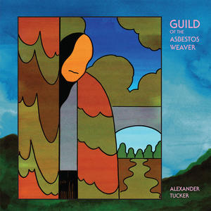 Cover of vinyl record GUILD OF THE ASBESTOS weaver by artist
