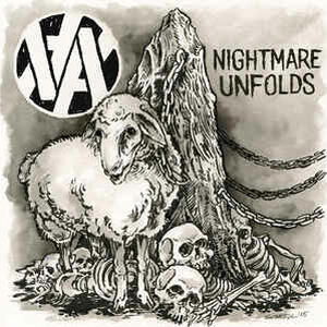 Cover of vinyl record NIGHTMARE UNFOLDS by artist