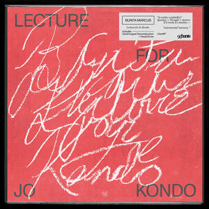 Cover of vinyl record LECTURE FOR JO KONDO by artist