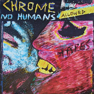 Cover of vinyl record NO HUMANS ALLOWED by artist