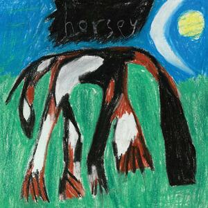 Cover of vinyl record HORSEY - (COLOURED VINYL) by artist