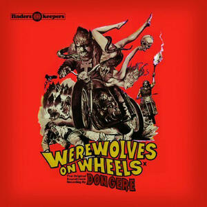 Cover of vinyl record WEREWOLVES ON WHEELS by artist
