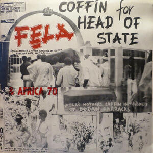 Cover of vinyl record COFFIN FOR HEAD OF STATE by artist