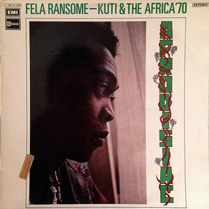 Cover of vinyl record AFRODISIAC by artist