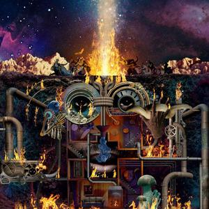 Cover of vinyl record FLAMAGRA - (lmt pop-up deluxe edition) by artist