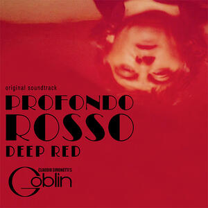 Cover of vinyl record DEEP RED - PROFONDO ROSSO by artist