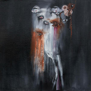 Cover of vinyl record THE VANISHING by artist