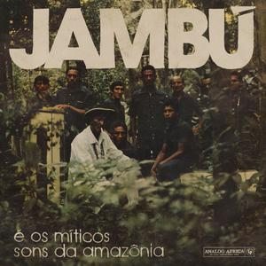 Cover of vinyl record JAMBU-E OS MITICOS SONS.. by artist