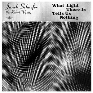 Cover of vinyl record WHAT LIGHT THERE IS TELLS US NOTHING - (gold vinyl) by artist