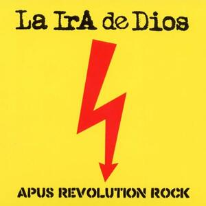 Cover of vinyl record APUS REVOLUTION ROCK  by artist