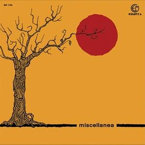 Cover of vinyl record MISCELLANEA by artist