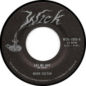Cover of vinyl record LET ME OUT/BE THE BLOOD by artist