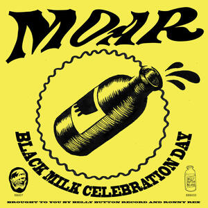 Cover of vinyl record BLACK MILK CELEBRATION DAY by artist