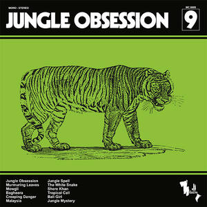 Cover of vinyl record JUNGLE OBSESSION - (50TH ANNIVERSARY EDITION) by artist