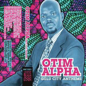 Cover of vinyl record GULU CITY ANTHEMS by artist