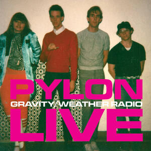 Cover of vinyl record GRAVITY / WEATHER RADIO LIVE by artist