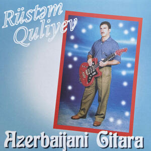 Cover of vinyl record AZERBAIJANI GITARA by artist