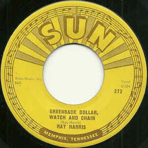 Cover of vinyl record Greenback Dollar, Watch And Chain by artist