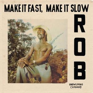 Cover of vinyl record MAKE IT FAST, MAKE IT slow by artist