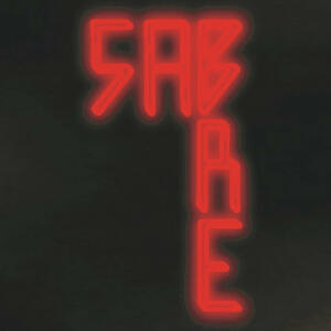 Cover of vinyl record SABRE by artist