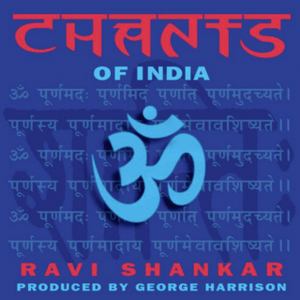 Cover of vinyl record CHANTS OF INDIA by artist