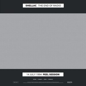 Cover of vinyl record END OF RADIO by artist