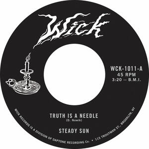 Cover of vinyl record TRUTH IS THE NEEDLE by artist