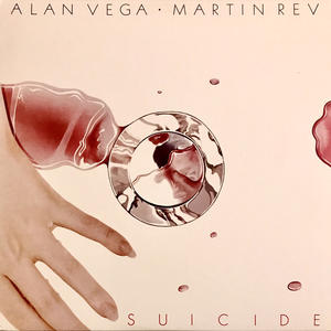 Cover of vinyl record SUICIDE/ ALAN VEGA MARTIN REV by artist
