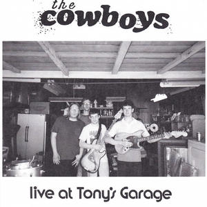 Cover of vinyl record LIVE AT TONY'S GARAGE by artist