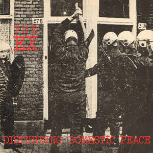 "Cover of vinyl record DISTURBING DOMESTIC PEACE  -LP+7""- by artist"