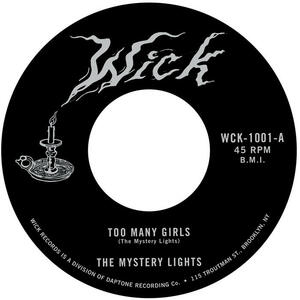 Cover of vinyl record TOO MANY GIRLS / TOO TOUGH TO BEAR by artist